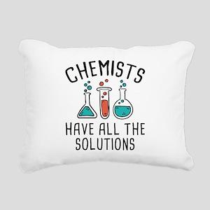 Chemists Rectangular Canvas Pillow