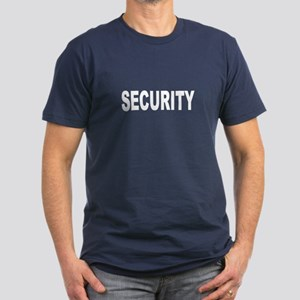 Security Men's Fitted T-Shirt