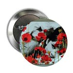 """Audrey in Poppies 2.25"""" Button (10 pack)"""