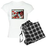 Audrey in Poppies Women's Light Pajamas