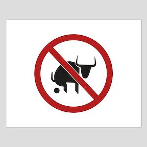 No Bull Small Poster