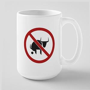 No Bull Large Mug