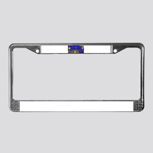 Retro, Ford, Mercury, License Plate Frame