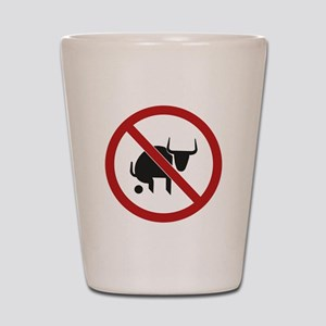 No Bull Shot Glass