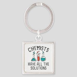 Chemists Square Keychain