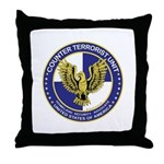 Terrorism CTU Seal Throw Pillow