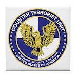 Terrorism CTU Seal Tile Coaster