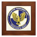 Terrorism CTU Seal Framed Tile