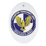 Terrorism CTU Seal Oval Ornament