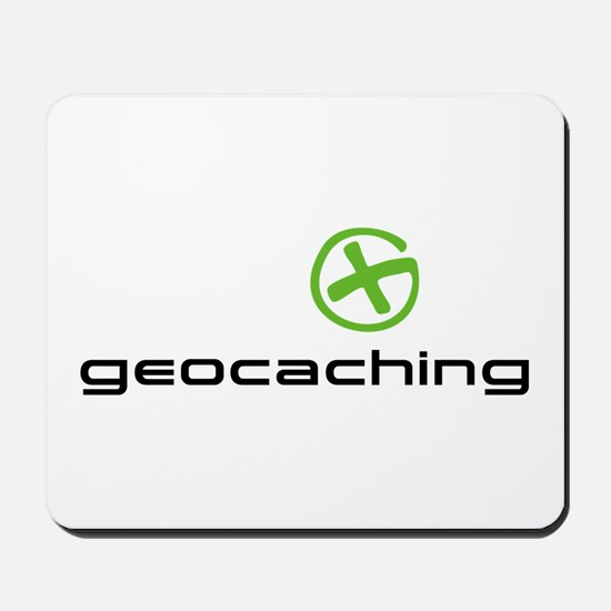 Geocaching Logo green Mousepad