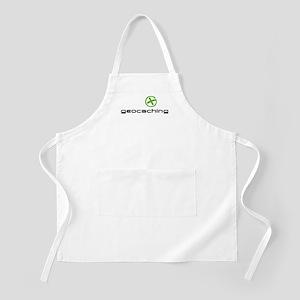 Geocaching Logo green Apron