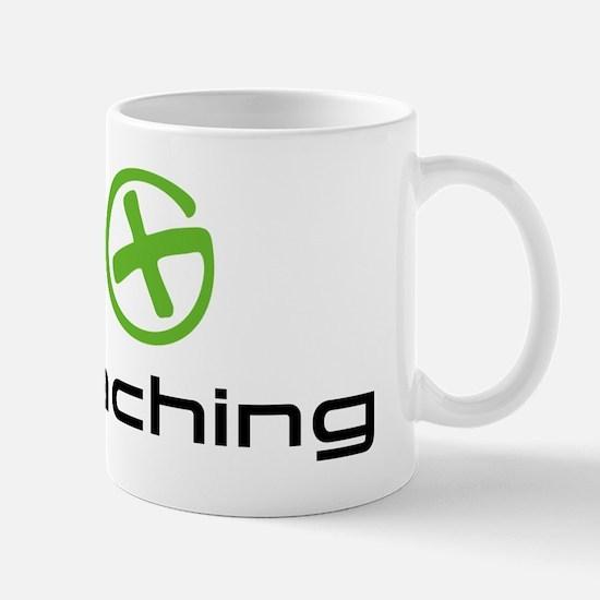Geocaching Logo green Mug