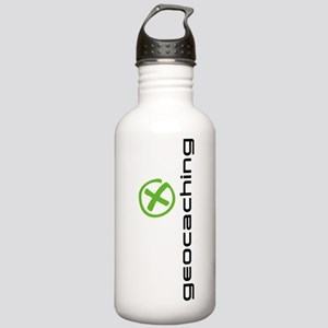 Geocaching Logo green Stainless Water Bottle 1.0L