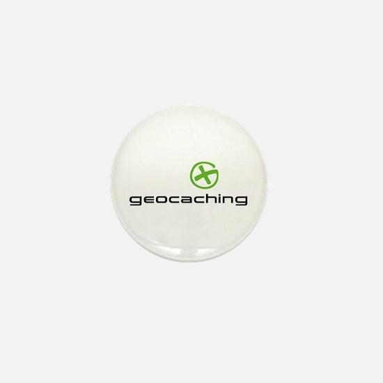 Geocaching Logo green Mini Button