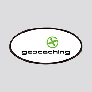 Geocaching Logo green Patches