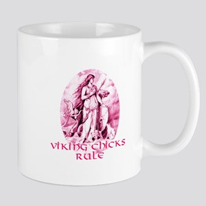 Viking Chicks Rule Mug