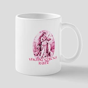 Viking Chicks Rule Mug