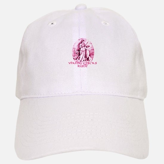 Viking Chicks Rule Baseball Baseball Cap