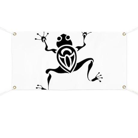 Tribal Frog Tattoo Banner by whitetiger_llc
