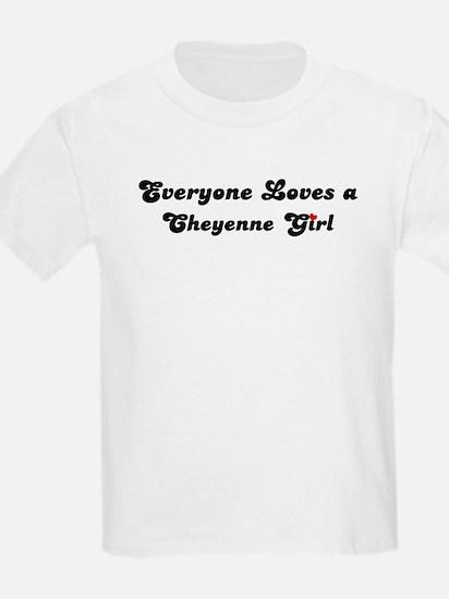 Loves Cheyenne Girl Kids T-Shirt