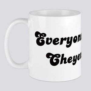 Loves Cheyenne Girl Mug
