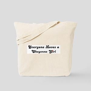 Loves Cheyenne Girl Tote Bag