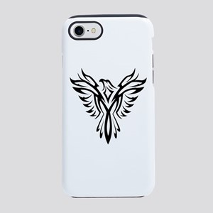 Tribal Phoenix Tattoo Bird iPhone 7 Tough Case