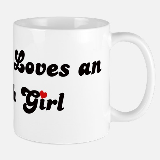 Loves Oshkosh Girl Mug