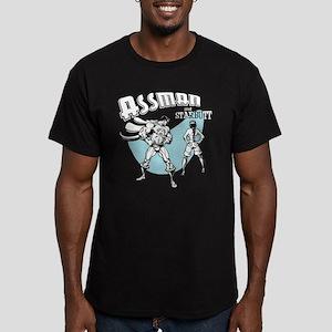 Assman II Men's Fitted T-Shirt (dark)