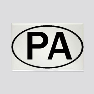 PA OVAL & MORE! Rectangle Magnet