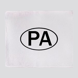 PA OVAL & MORE! Throw Blanket