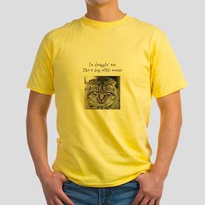 Draggin Ass Yellow T-Shirt