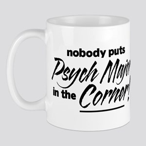 Psych Major Nobody Corner Mug