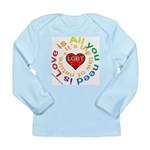 LGBT Marriage Long Sleeve Infant T-Shirt