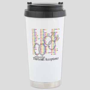 Gay Marriage Acceptance Stainless Steel Travel Mug