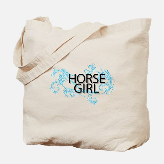Horse Girl Tote Bag
