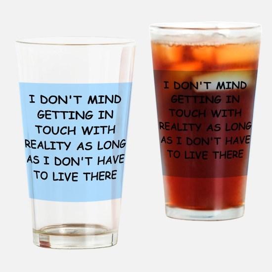 psychology Pint Glass