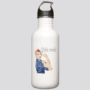 Girls Rock! (vintage) Stainless Water Bottle 1.0L