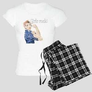 Girls Rock! (vintage) Women's Light Pajamas