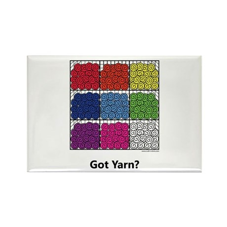 Got Yarn? Rectangle Magnet