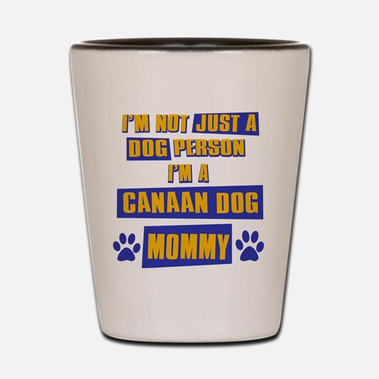 Canaan Dog Mommy Shot Glass