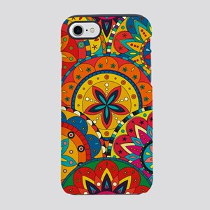 Funky Retro Pattern iPhone 7 Tough Case