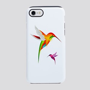 Colorful Hummingbirds Birds iPhone 7 Tough Case