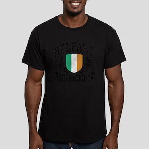 Belfast Ireland Men's Fitted T-Shirt (dark)