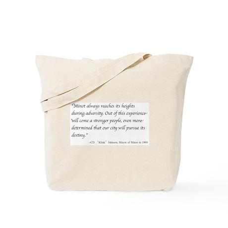 Klink's Wisdom Tote Bag