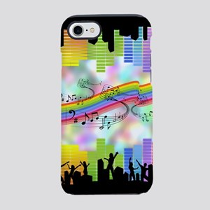 Colorful Musical Theme iPhone 7 Tough Case