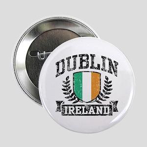 """Dublin Ireland 2.25"""" Button"""