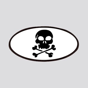 Pirate Skull with Crossbones Patches