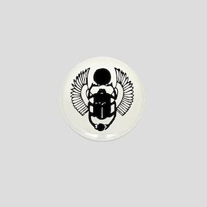 Egyptian Scarab Symbol Mini Button