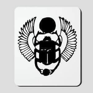 Egyptian Scarab Symbol Mousepad